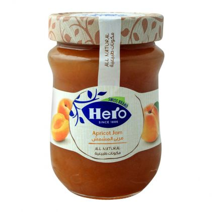 Hero All Natural Apricot Jam, 350gm