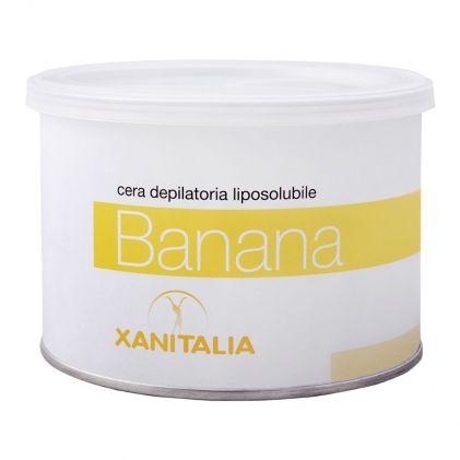 Xanitalia Banana Liposoluble Depilatory Hair Removal Wax, 400ml
