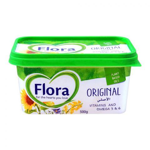 Flora Original Spread, Plant Based Oil, 500g