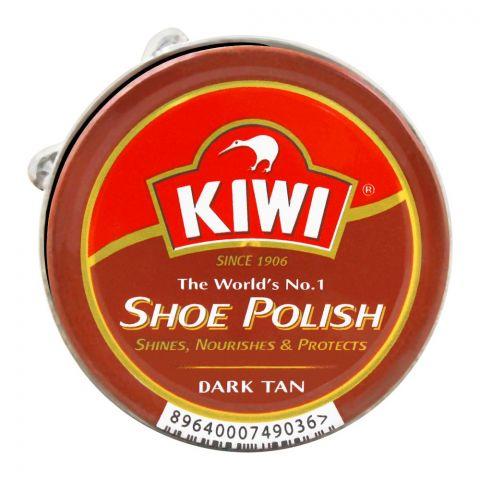 Kiwi Shoe Polish, Dark Tan, 20ml