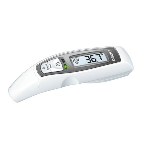 Beurer 6-In-1 Multi Functional Forehead/Ear Thermometer, FT 65