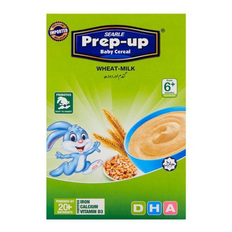 Prep-Up Baby Cereal Wheat & Milk 175gm
