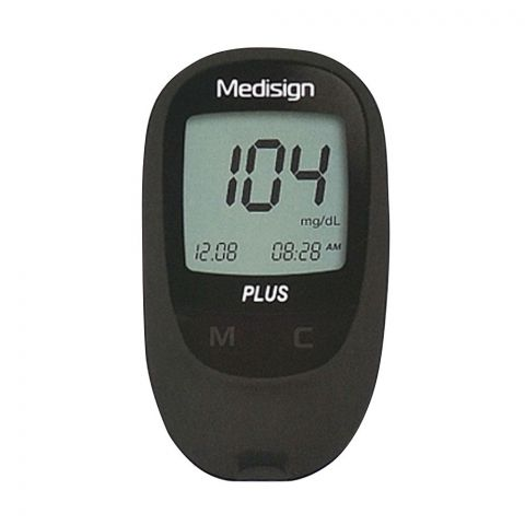 Medisign Plus Blood Glucose Monitoring System, MM1200