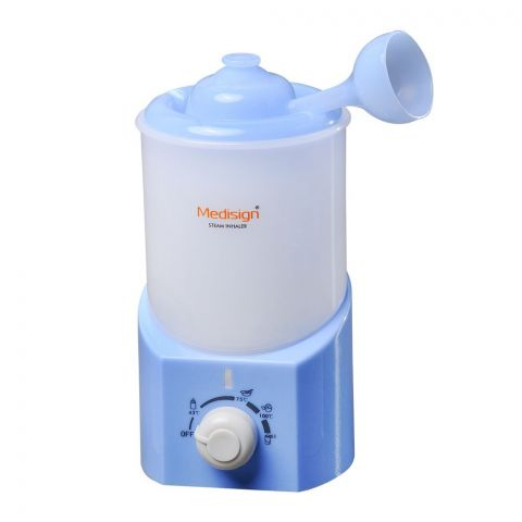 Medisign 4-In-1 Steam Inhaler + Feeder & Food Warmer + Egg Boiler