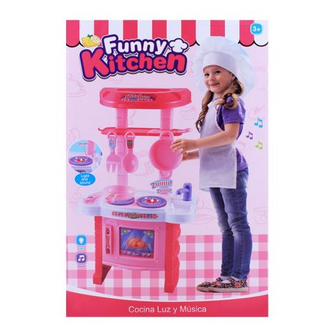 Live Long Funny Kitchen Set With Light & Music, 018-11