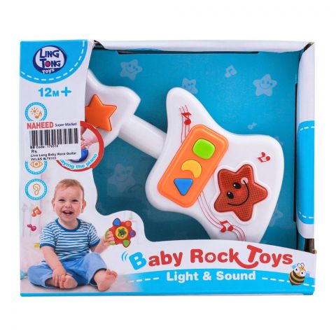 Live Long Baby Rock Guitar With Light & Sound, LT8103