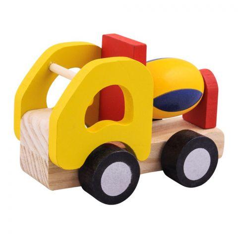 Live Long Wooden Construction Truck, 2305-4