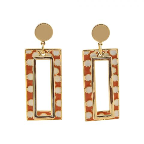 Earring, Golden, NS-092