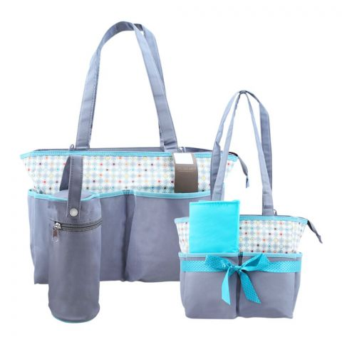 Colorland Grey Gamut Pattern Baby Bag Set, 5 Pieces, BB999AA